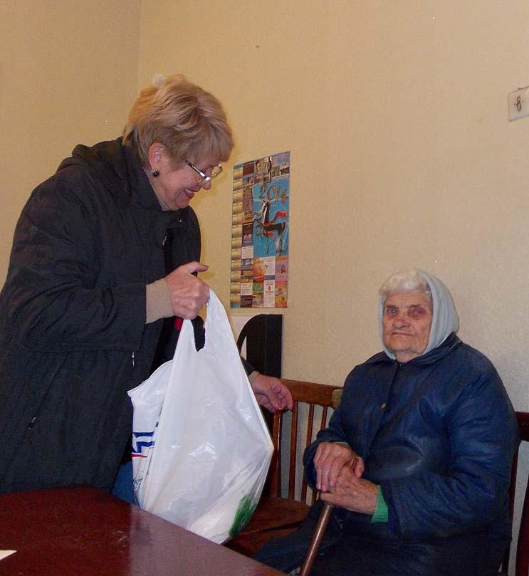 Help to senior people in Alchevsk