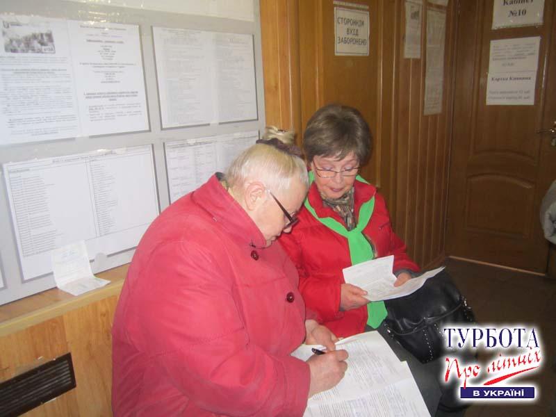 Волонтеры ВБО ТЛУ помогают заполнять декларации